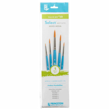 Select Brush Set of 5 Rounds