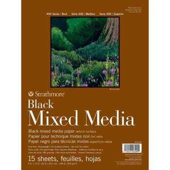 Black Mixed Media Pads