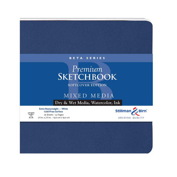 Beta Mixed Media Sketchbooks, Softcover