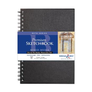 Beta Series Wirebound Sketchbooks
