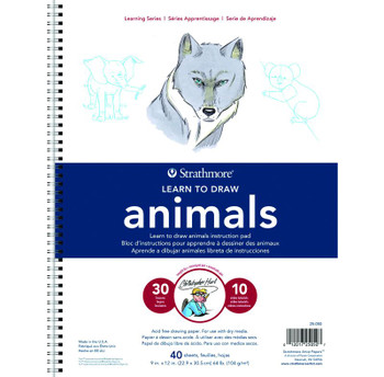 Learn to Draw Animals Instruction Pad