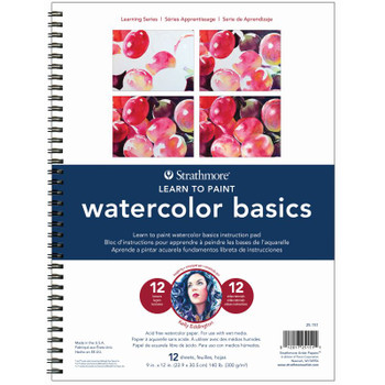 Learn to Paint Watercolor Basics