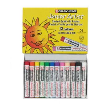 Junior Oil Pastel Set of 12, Regular