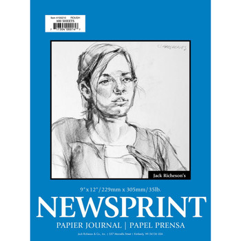 Newsprint Pads, 100 sheets