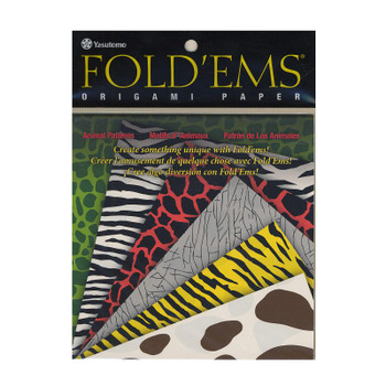 Origami Paper Pack, Animal Patterns