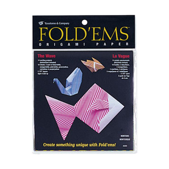 Origami Paper Pack, Wave Pattern