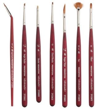 Velvetouch Mini Detail Brushes, Angled Spotter, Angle Shader, Blender, Chisel Blender, Dagger Stripper, Fan Filbert