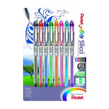 Pentel Slicci Gel Pen Set