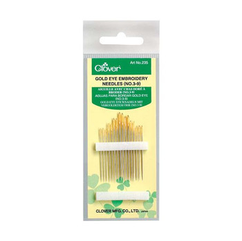 Embroidery Needles, Assorted Pack of 16
