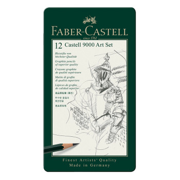 Castell 9000 Pencil Set of 12