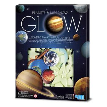 Glow Planets & Supernova