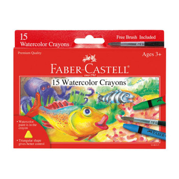 Watercolor Crayons Set