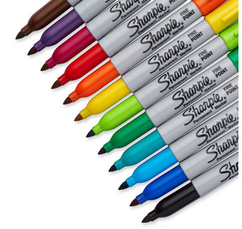 Sharpie Marker Sets, Fine Point 12 Color