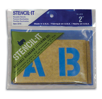 Stencil-It Letters & Numbers Packs