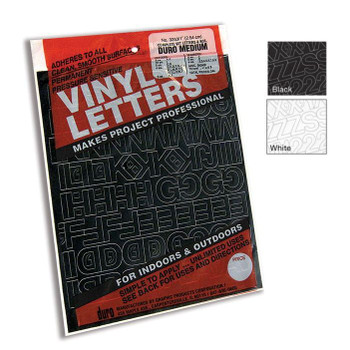 Vinyl Letters and Numbers