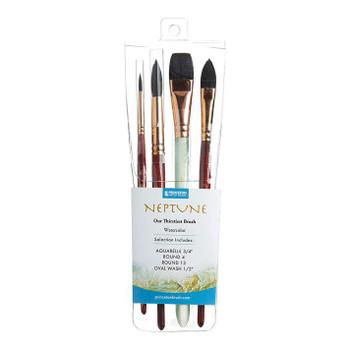 Neptune Watercolor Brush Set