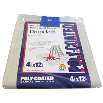 Poly-Coated Canvas Dropcloth