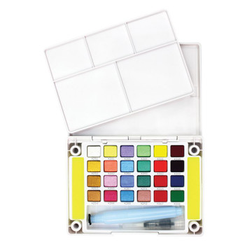 Koi Watercolor Set, Luxe Colors