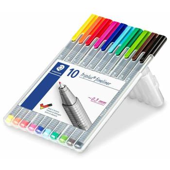 Triplus Fineliner Pen Set of 10