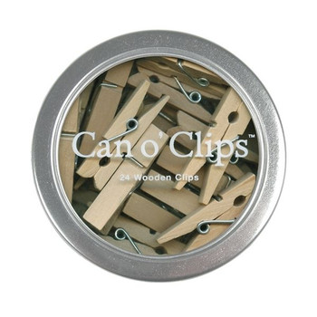 Can o' Clips Mini Clothespins
