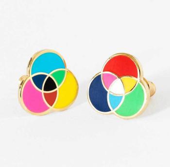RGB / CMYK Earrings