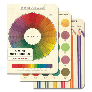 Mini Notebook Set, Color Wheel