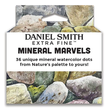 Daniel Smith Watercolor Dot Card, Mineral Marvels