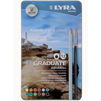 Lyra Watercolor Pencil Set of 12