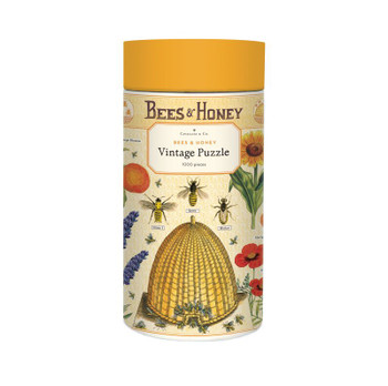 Jigsaw Puzzle, Bees and Honey
