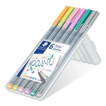 Triplus Fineliner Pastel Pen Set