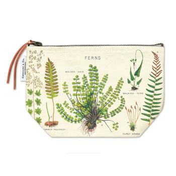 Vintage Pouch, Ferns
