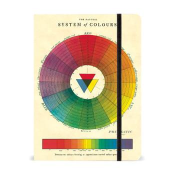 "Color Wheel Notebook, 6"" x 8"""