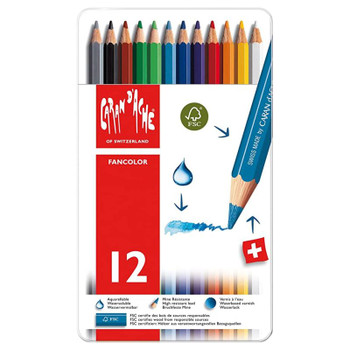 Fancolor Watercolor Pencil Set