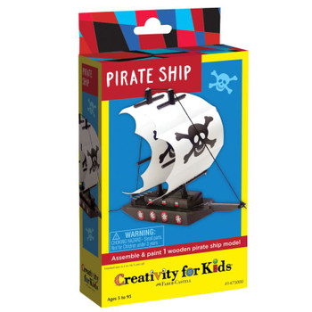 Make Your Own Pirate Ship Kit