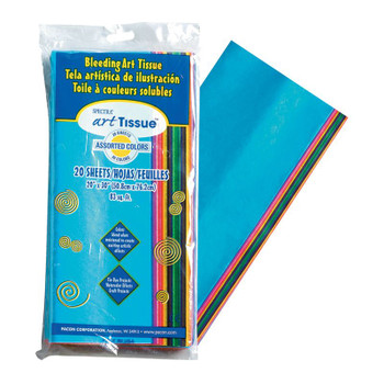Tissue Paper Pack, Assorted Colors