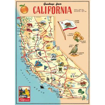 Cavallini Paper, California Map