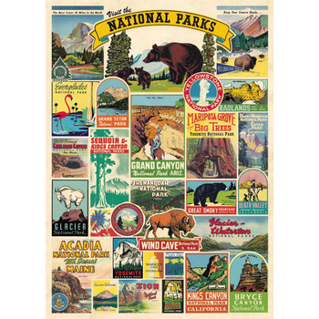 Cavallini Paper, National Parks 20x28