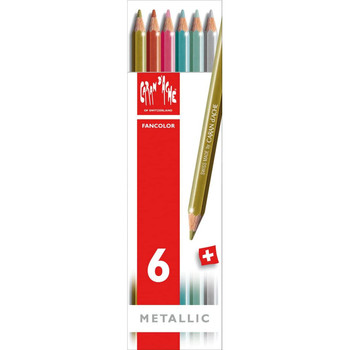 Fancolor Metallic Water-Soluble Pencil Set