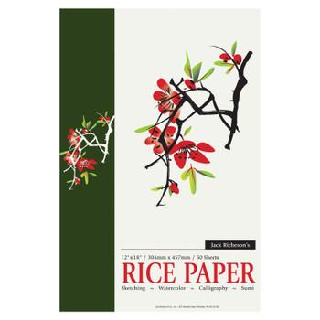 "Rice Paper Pad, 12"" x 18"""