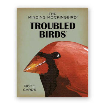 Troubled Birds Notes Cards Set