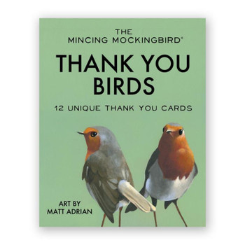 Thank You Birds Note Cards Set