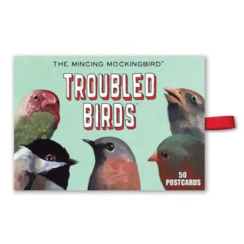 Troubled Birds Postcard Set