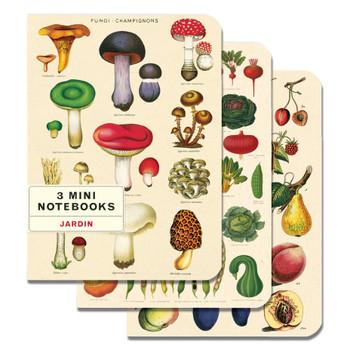Mini Notebooks Set, Le Jardin