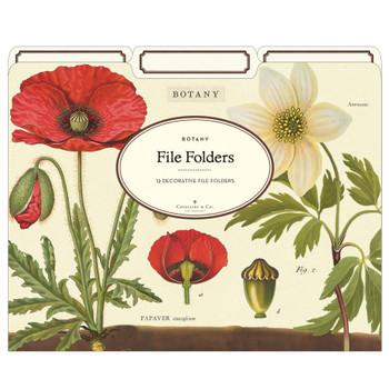 File Folders Set, Botany