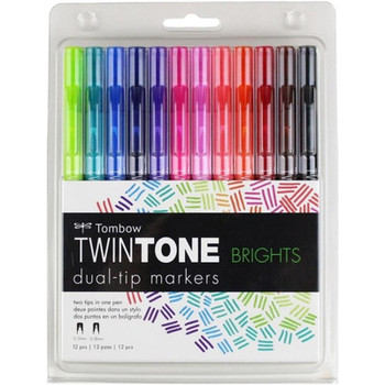 Tombow TwinTone Markers Sets