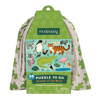 Puzzle To Go, Animals of the World