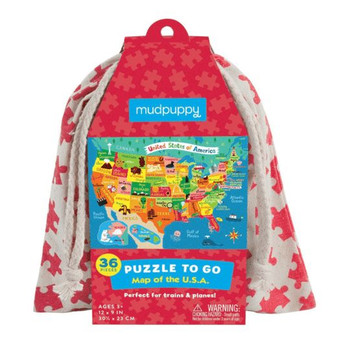 Puzzle To Go, Map of the USA
