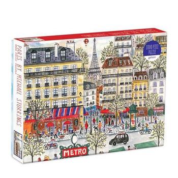 Michael Storrings Paris Puzzle, 1000 Pieces