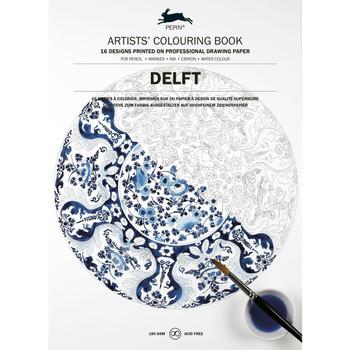 Artists' Coloring Book, Delft