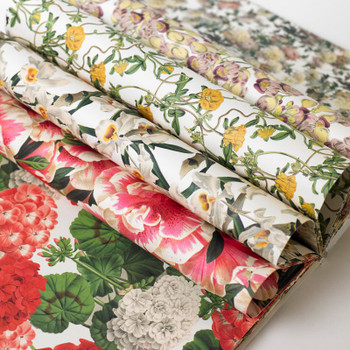 Creative Paper Book, Flower Prints